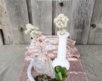 SALE!! Rose Gold Sequin Table Runner ~ Bulk Order ~ 12 x 108 Inches ~ Wedding Decor ~ Wedding Table Runner ~ Spring Wedding ~ Metallic