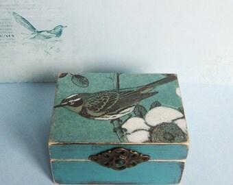 bird box / trinket box/ jewellery box