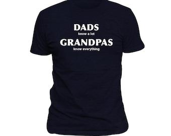 New Grandpa To Be Gift Idea, Grandpa Shirt, Grandpa Gift, Grandpa to be gift, Grandpas know, Husband gift, Funny grandpa gift, Grandpa #OS54