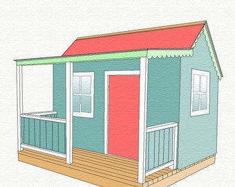 DIY Wendy House - woodworking plans