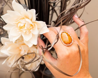 Amber Ring, Fully Adjustable Amber Ring, Adjustable Amber Ring, Amber jewellery, jewellery, amber jewelry, baltic amber ring, silver amber