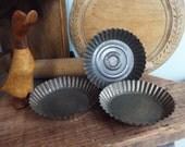 Vintage Fluted Pie Flan Tin Bake Ware