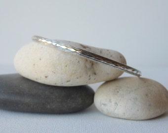Sterling Silver Bangle Bracelet, Vintage Sterling Silver Bracelet, Modern Bangle Bracelet, Vintage Bangle, Retro Bracelet, 60's, 70's Bangle