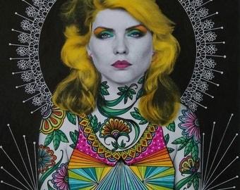Debbie Harry (Blondie) Art Print