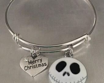 Christmas Jack bracelet