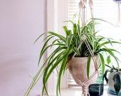 Macrame Plant Hanger / Plant Holder / Hanging Planter / Home Decor / Macrame Plant Holder / pot hanger / garden decor