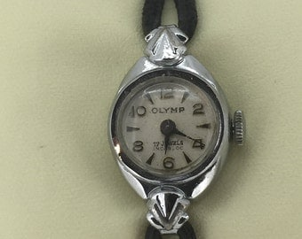 "Vintage 1950's Manual ""Olymp"" Ladies' Dress Watch. 17 jewels, incabloc movement."
