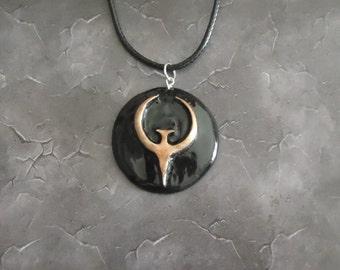 Quake inspired necklace