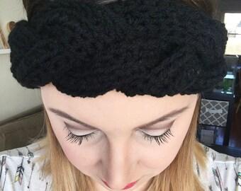 Anthropologie Inspired Braided Crochet Earwarmer - Womens Crochet Accessories Headband