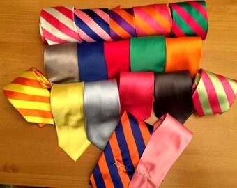 Monogrammed Neck Tie - Men's Tie - Neckwear - Monogrammed Neck Tie - Custom Tie - Personalized Tie