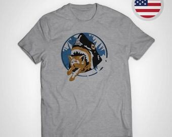Pineapple Express - Shark Cat T-Shirt EXACT REPLICA