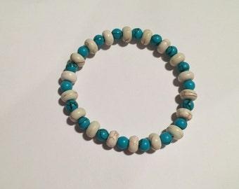 Mixed Howlite Bracelet