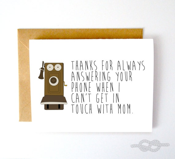Funny Birthday Card For Dads Bad Dad Jokes Funny Card For: Funny Father's Day Card Funny Greeting Card By KnottyCards