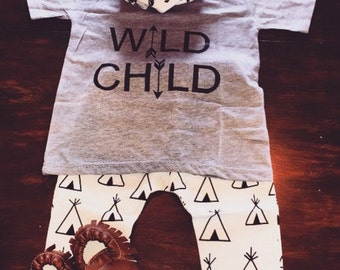 "Wild Child"" T-shirt"