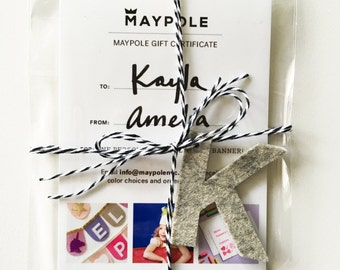 NEW! Maypole Gift Certificate