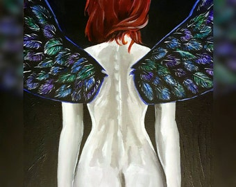 Fairy with Red Hair