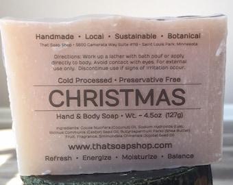 Christmas-Shea Butter & Jojoba Soap