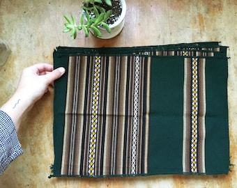 southwestern placemats (set of 7), 1970's