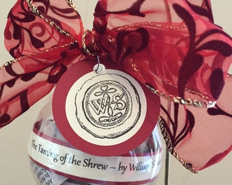 The Taming of the Shrew (William Shakespeare) Ornament