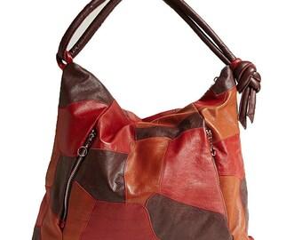 leather handbag Rolan leather handbag Genuine Leather Handbag