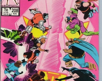 X-Men 208 Aug 1986 NM- (9.2)