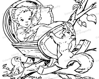 il_340x270.1012009252_1nf0 additionally 377 best images about coloring pages on pinterest coloring pages on vintage baby coloring pages moreover 650 best images about coloring pages for kids years 3 6 on on vintage baby coloring pages as well as vintage with baby chicks adult coloring pages pinterest on vintage baby coloring pages further 650 best images about coloring pages for kids years 3 6 on on vintage baby coloring pages