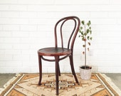 RESERVED for *nicole Vintage Bentwood Thonet Chair / Wood Bistro Cafe Chair