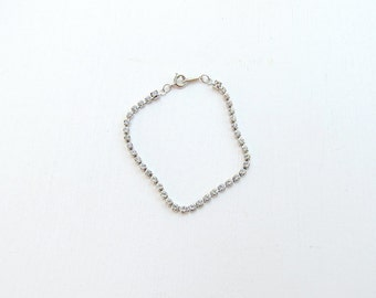 Avon Bracelet, Child Bracelet, Avon Jewelry, Children Jewelry, Rhinestone Bracelet, Rhinestone Bracelet Vintage, Clear Rhinestones, Pagent