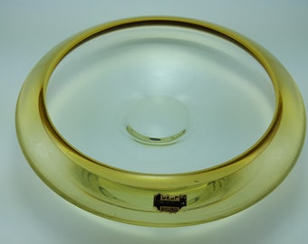Vintage Bengt Orup bowl made for Hyllinge, Sweden