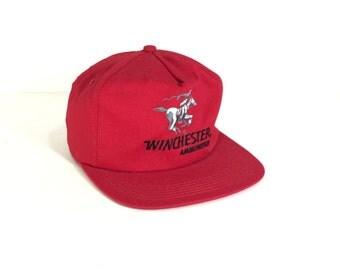 WINCHESTER HAT // 80s // 90s // Winchester // Winchester Guns // Winchester Ammunition // Winchester Cap // Winchester Hat // Winchester
