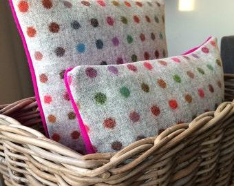 Abraham Moon Multispot and Pink Cushion