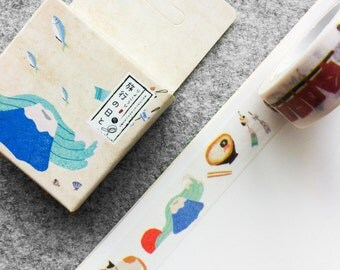 Cute washi tape - japanese graphics