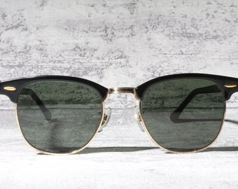 Vintage B&L Ray Ban Clubmaster  W0365 / iconic sunglasses