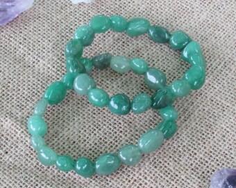 Aventurine Bracelet infused w/ Reiki / Healing Jewelry
