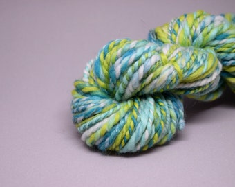 Handspun yarn | MERMAID | 58g | merino, angelina