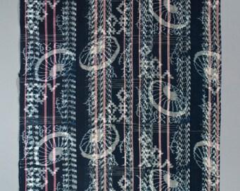 pound ikat futon cover umbrella motif japan futon   etsy  rh   etsy
