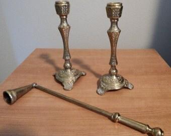 Wainberg brass candlesticks