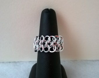 S - 098 chainmaille ring