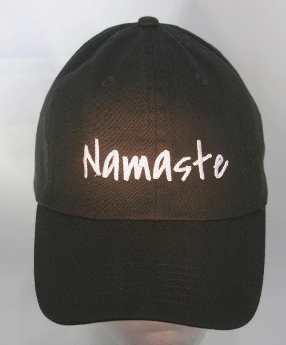 Namaste (Polo Style Ball Black with White Stitching)