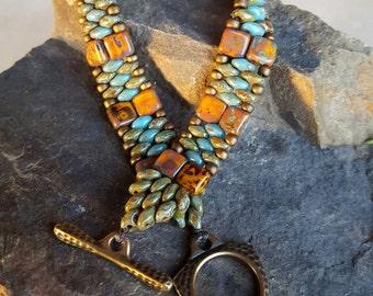 Beaded Single Wrap Bracelet
