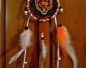 Chicago Bears mini dream catcher