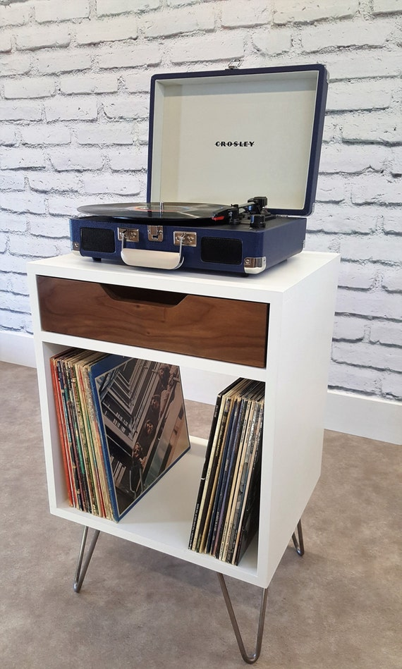 Items Similar To Small Record Console Modern End Table