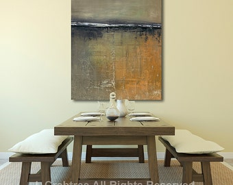"large Giclee PRINT on Canvas  ""Uneven Ground"" CRABTREE PRINTS"