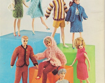 Free Knitting Patterns For Barbie And Ken Dolls : Ken doll clothes Etsy
