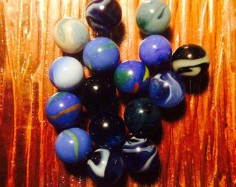 16 Antique ass't Vintage  Marbles Lot #14