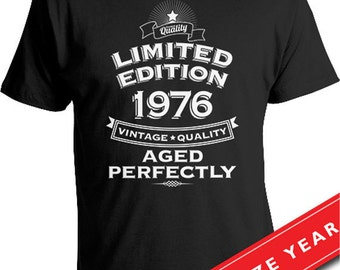 Gift Ideas For 40 Year Old 40th Birthday T Shirt Present Born In 1976