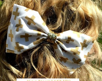 Gold Digger Hair Bow