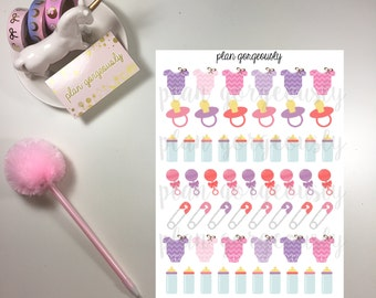 Baby Stickers, Baby Girl Stickers