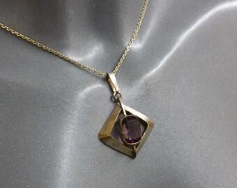 Trailer Art Deco Doublé purple stone Amerikan SK200