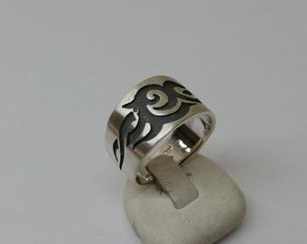 Ring Silver 925 friendship ring 23 mm SR658